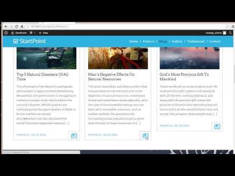 Style your Blog Post | StartPoint WordPress Theme