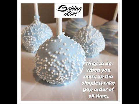 Cake Pop Troubleshooting
