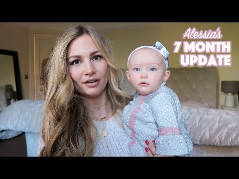 7 Month Baby Update! | Alessia