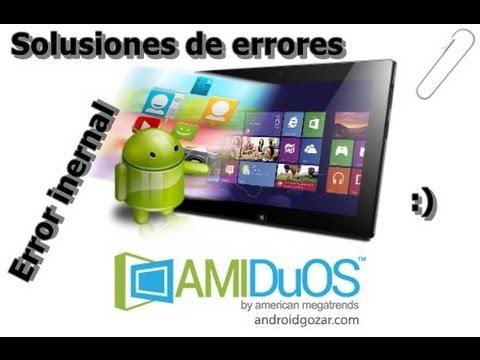 Solusion De errores De Emulacion Android DuOs :)