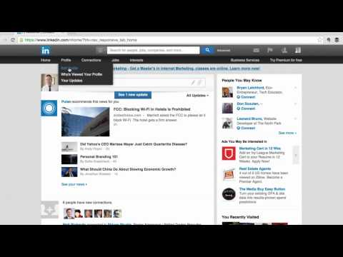 How To Use Your LinkedIn Public Profile URL