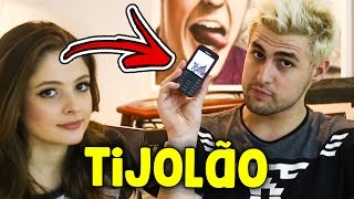 CELULAR DE R$ 50 vs iPHONE 7 de R$ 6,500 !!!