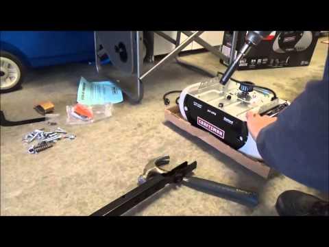 Assemble Craftsman/Chamberlain Garage Door Opener