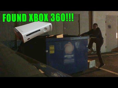 Gamestop Dumpster Diving! - FOUND XBOX 360!!!