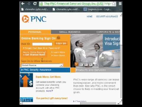 PNC Bank Online Banking Login Instructions