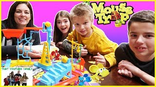 Family Game Night Mouse Trap!! / That Youtub3 Family