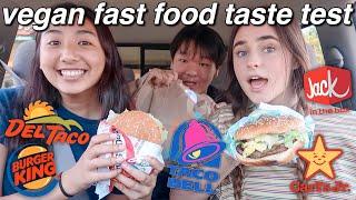 VEGAN FAST FOOD TASTE TEST