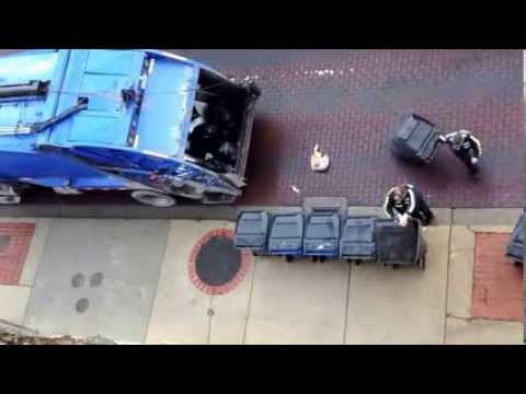 Garbage pick up in Beckley, west Virginia