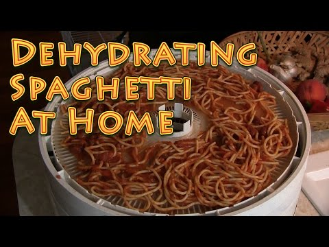 Dehydrating Spaghetti At Home EASY