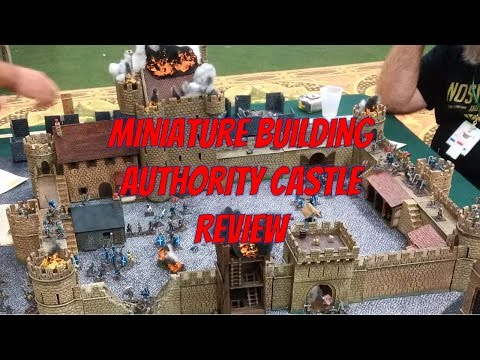 Review: Miniature Building Authority (MBA), Castle Kickstarter (First One)