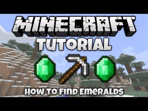 Minecraft Tutorial || How To... Find Emeralds In Minecraft