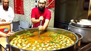 Khoye Wale Mutton Chaney - Sufi Naan Center | Chickpea with Boiled Eggs | Murgh Chane | Kartarpura