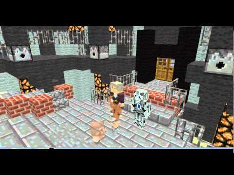 Minecraft Doctor Who Episode 1