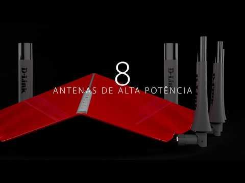 Router D-Link DIR-895L Ultra Wi-Fi, Wave 2 e MU-MIMO (compatível com mydlink™)