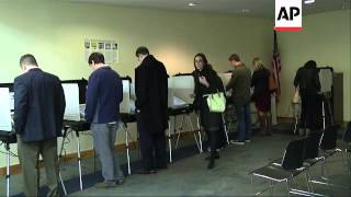 Morning Voting In A North Atlanta Community Got Underway This Electio
