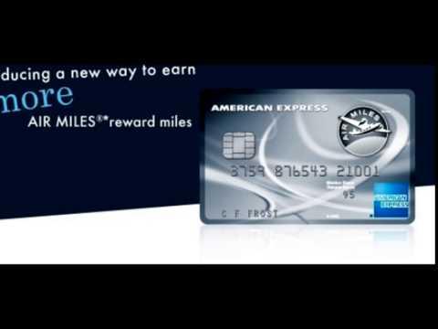 American Express Credit Card Air Miles