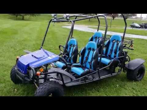150cc Wrangler 4 Seater Go kart from SaferWholesale.com