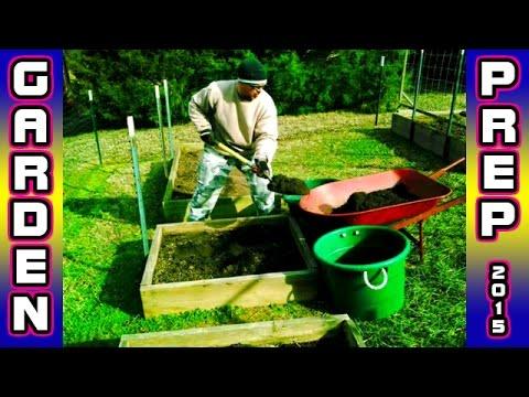 Garden Prep & Supplies - Build Raised Bed Trellis organic square foot gardening