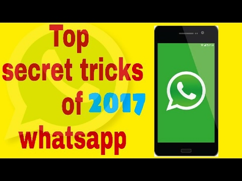Whatsapp trick 2017 [YOU DON'T KNOW] you should try it