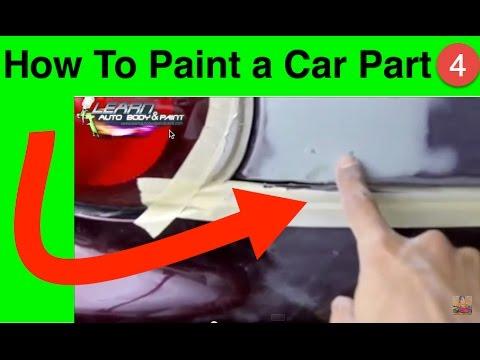 How To Paint a Car Part 4 Mini Course