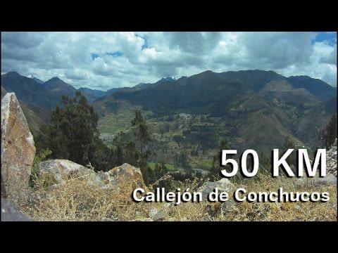 Ciclismo de montaña  - Perú - Ancash 50 Km - Conococha - Chiquian - Aquia - Ancash Perú