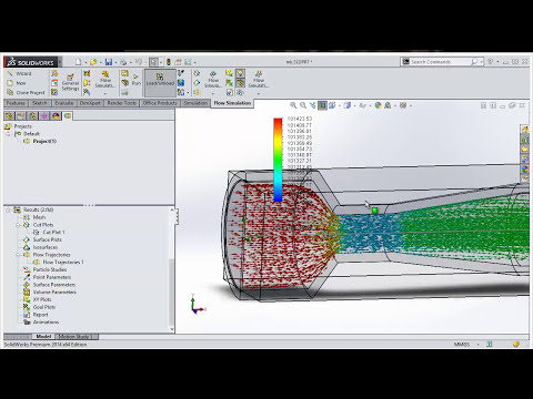 how to import fluid simulation data into excel & use equation in solidworks
