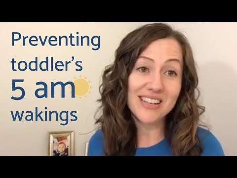 How to Prevent Your Toddler's Early Morning Rising