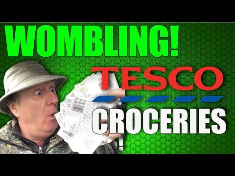 Wombling for lost coupons at Tesco (Ep26)