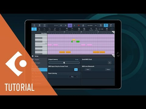 MIDI Editor Improvements in Cubasis 2.1 | New Features in Cubasis 2