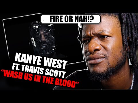 Kanye West – Wash Us In The Blood feat. Travis Scott (Official Video) REACTION