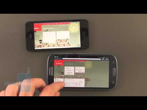 iPhone 5 vs Galaxy S III: HTML5 support comparison