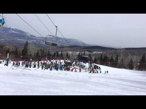 Chairlift Rollback Sugarloaf Mountain 3/21/15