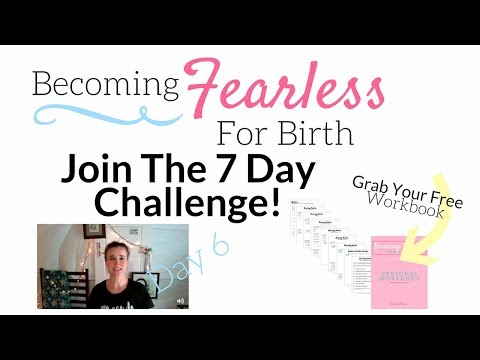 [ Challenge ] Becoming Fearless For Birth Day 6