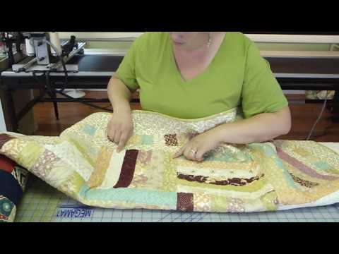 Jelly Roll Week - Sarah shows ideas with a Fence Rail