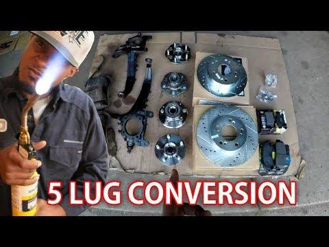 5 Lug Conversion (Part 1) | CB7 Project: Episode 6