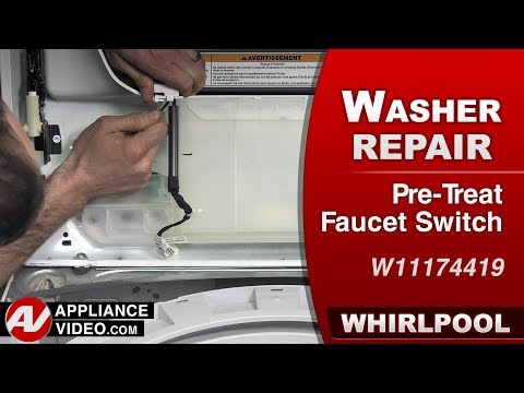 Whirlpool Washer - Pre - Treat Faucet Switch - Diagnostic & Repair
