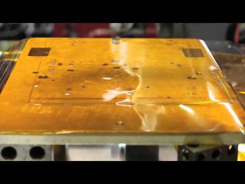 Cutting Kapton with 355nm Laser Cutter