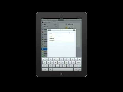 Add Email Account to Ipad