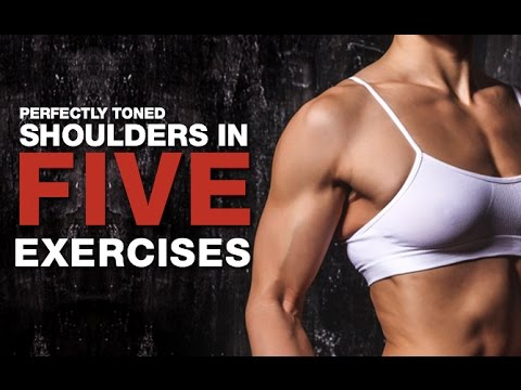 Women's Shoulder Workout (PERFECTLY TONED!!)