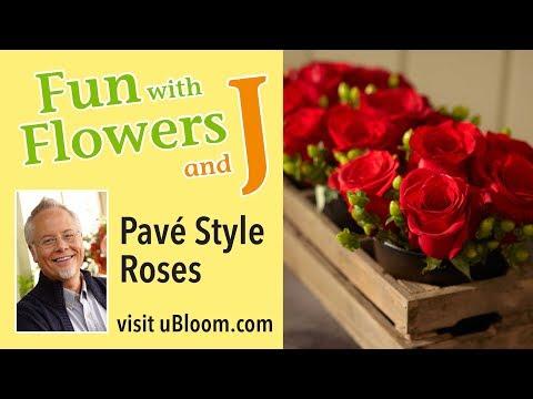 How to Arrange Flowers: The Short Cut &  Longer Lasting Roses!