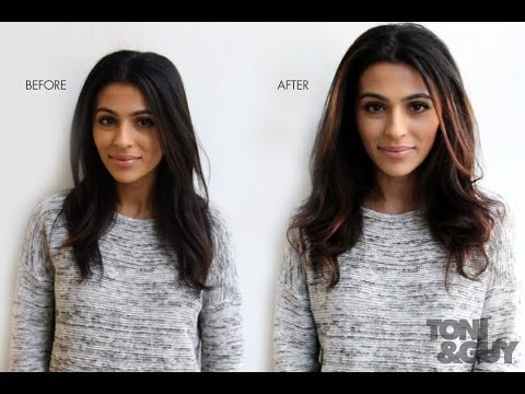 Caramel & Chocolate Tone Soft Balayage with Teni Panosian