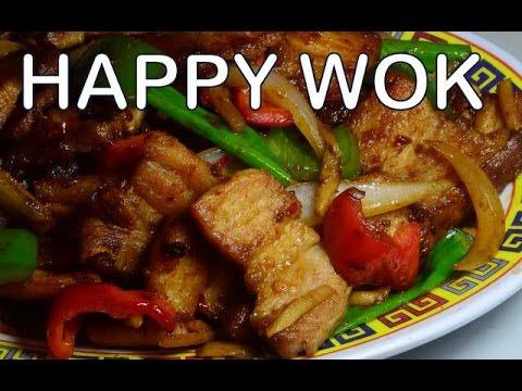 四川香辣五花肉 Stir Fry: Szechuan Spicy Pork Belly