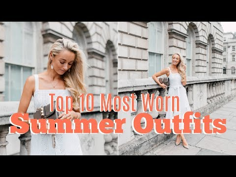 MY TOP 10 MOST WORN SUMMER PIECES  // MY STYLE //  FASHION MUMBLR