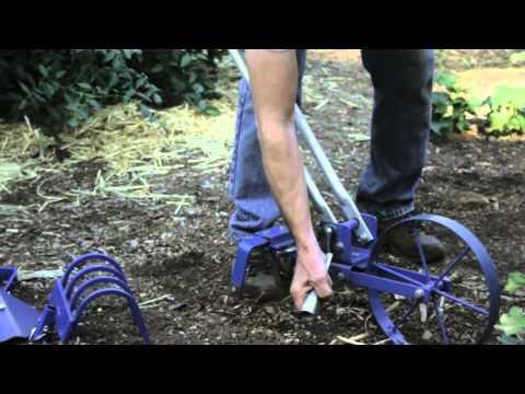 Wheel Hoe garden cultivator from Valley Oak Tools