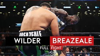 INCREDIBLE KNOCKOUT! | Deontay Wilder v Dominic Breazeale | FULL FIGHT!