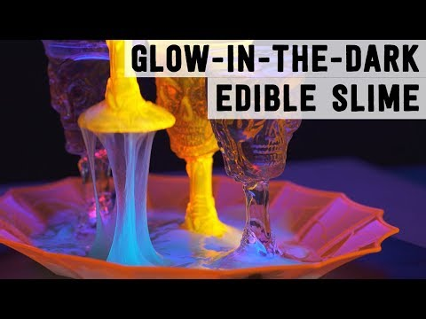 How to Make Glow-in-the-Dark Goo for Halloween | Food Network