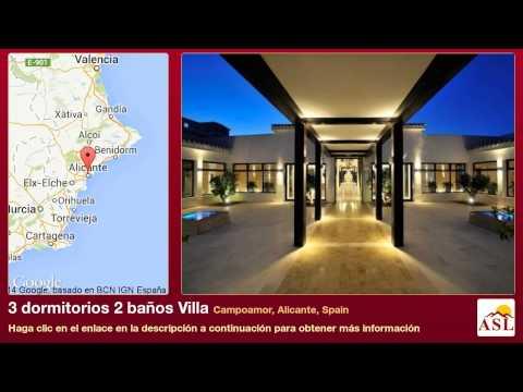 3 dormitorios 2 baños Villa se Vende en Campoamor, Alicante, Spain