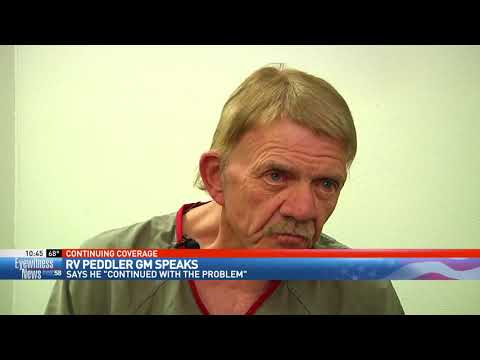 RV Peddler GM speaks from jail, says he 'continued with the problem'