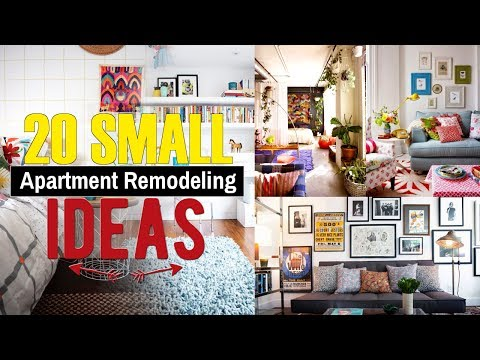 20 Small Apartment Remodeling & design ideas