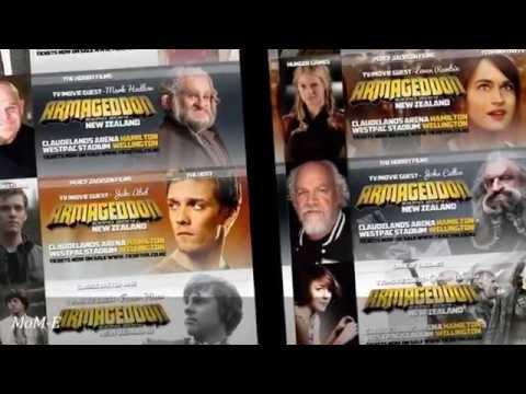 Armageddon Expo New Zealand 2014 - Hamilton And Wellington